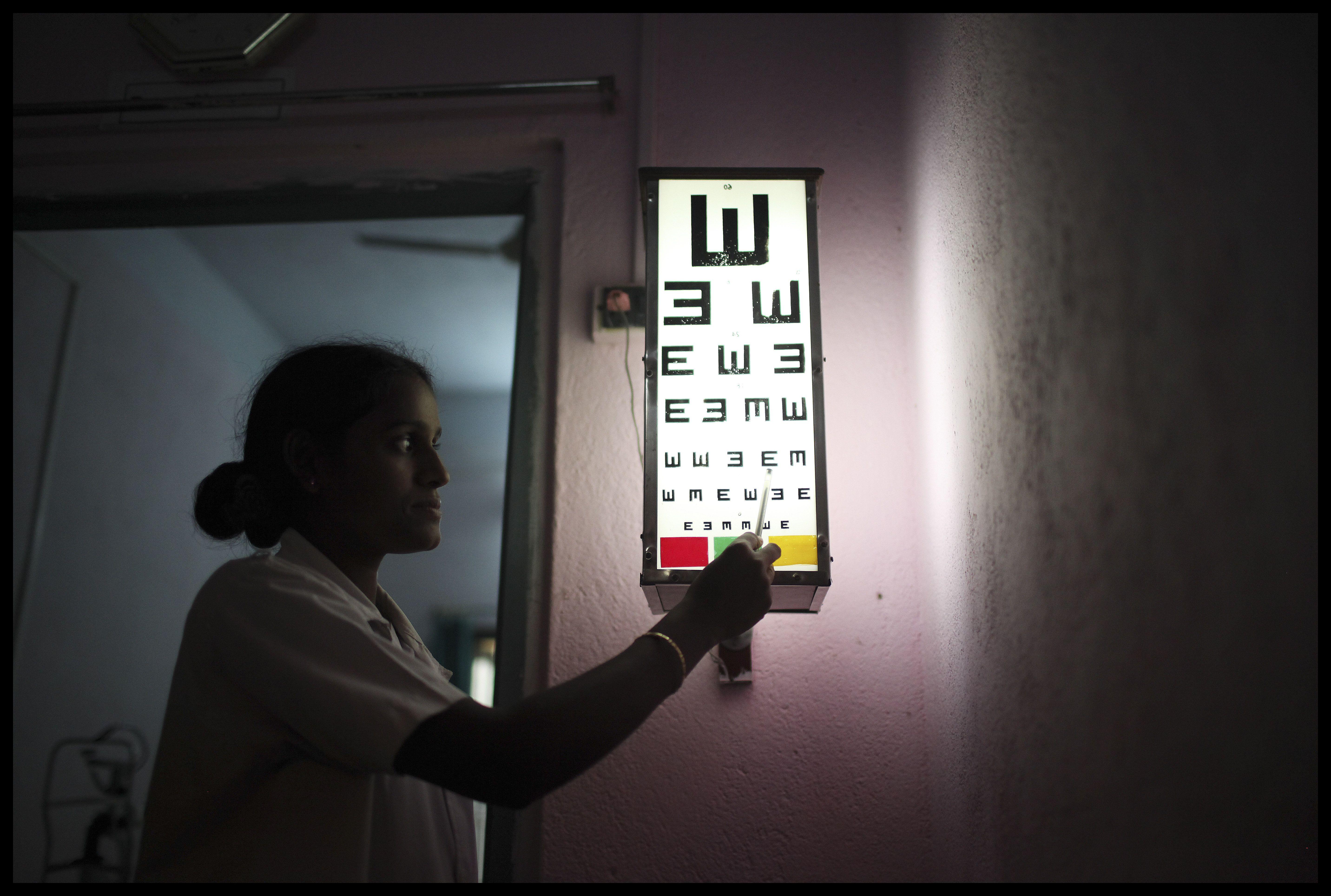 Regular eye exams reveal vision problems like