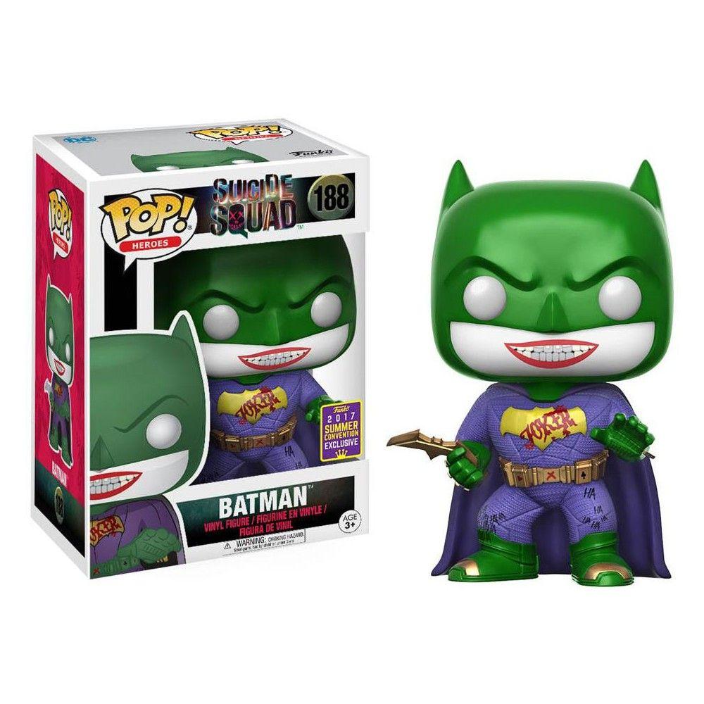 Suicide Squad Funko POP! Movies Joker Batman Vinyl Figure #188