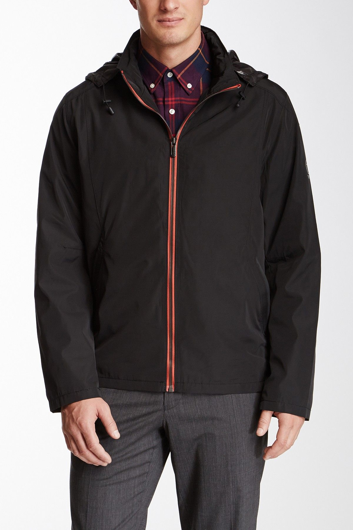 T Tech By Tumi Hipster Packable Waterproof Jacket Jacket