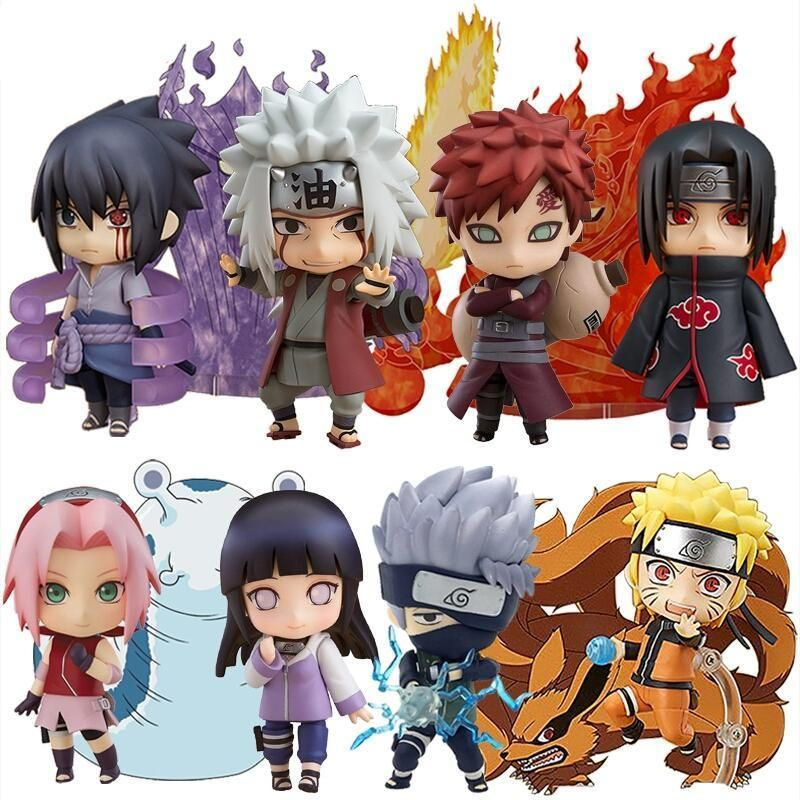 Naruto Mini Action Figures With Images Itachi Anime Figures