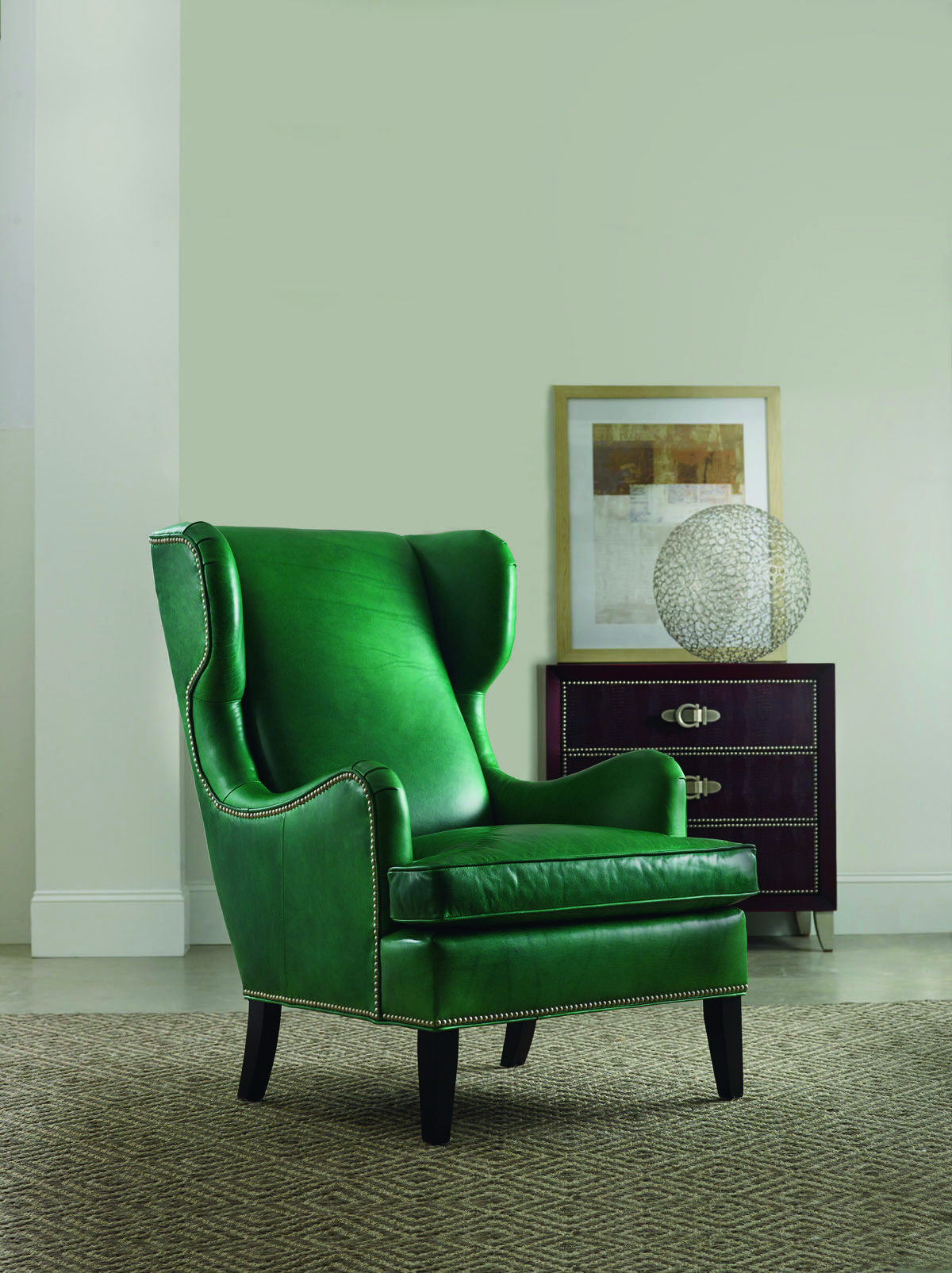 This Emerald Green Leather Chair Is By Hooker Furniture In Their Bradington  Young Collection. Great Shape, Great Color! TheHome.com #hpmkt