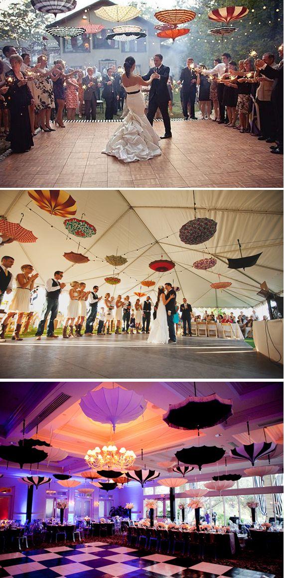 Suspensions parapluie