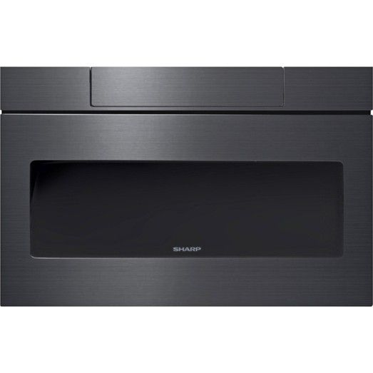 Sharp Smd2470ah 24 Quot Microwave Drawer Black Stainless