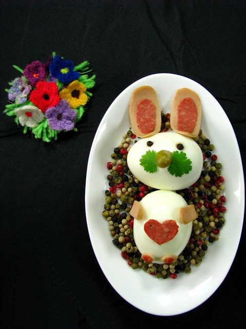 Just My Delicious: Easter Bunny with Egg
