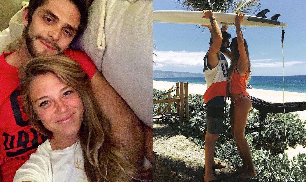 20 times thomas rhett and his wife lauren gave us intense