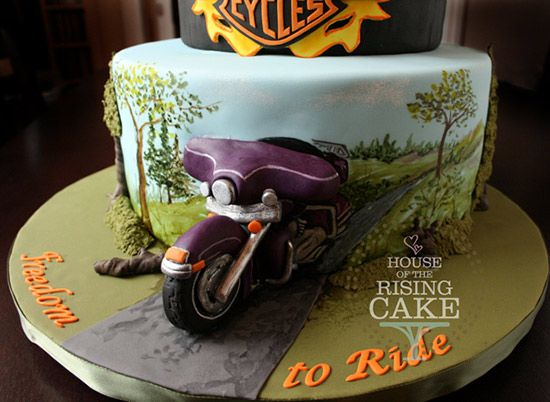 Motorcycles and Cakes HarleyDavidson Part 2 from Bikes in the