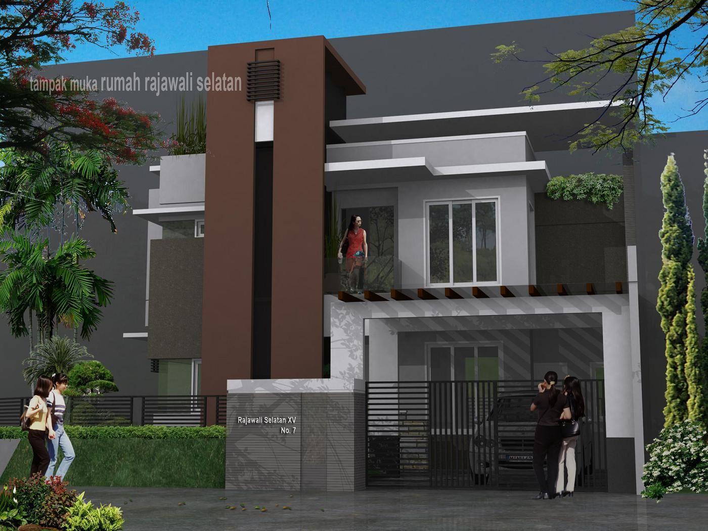 Kutipan Terbaru Desain Rumah 2 Lantai Type 45 Mediterania