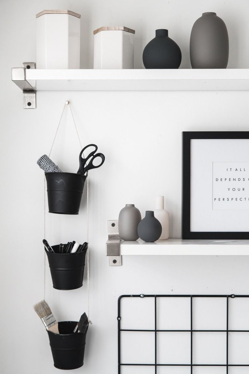 15 Diy Projects To Help You Declutter Your Home Desk Organization Diy Desk Wall Organization Diy Hanging