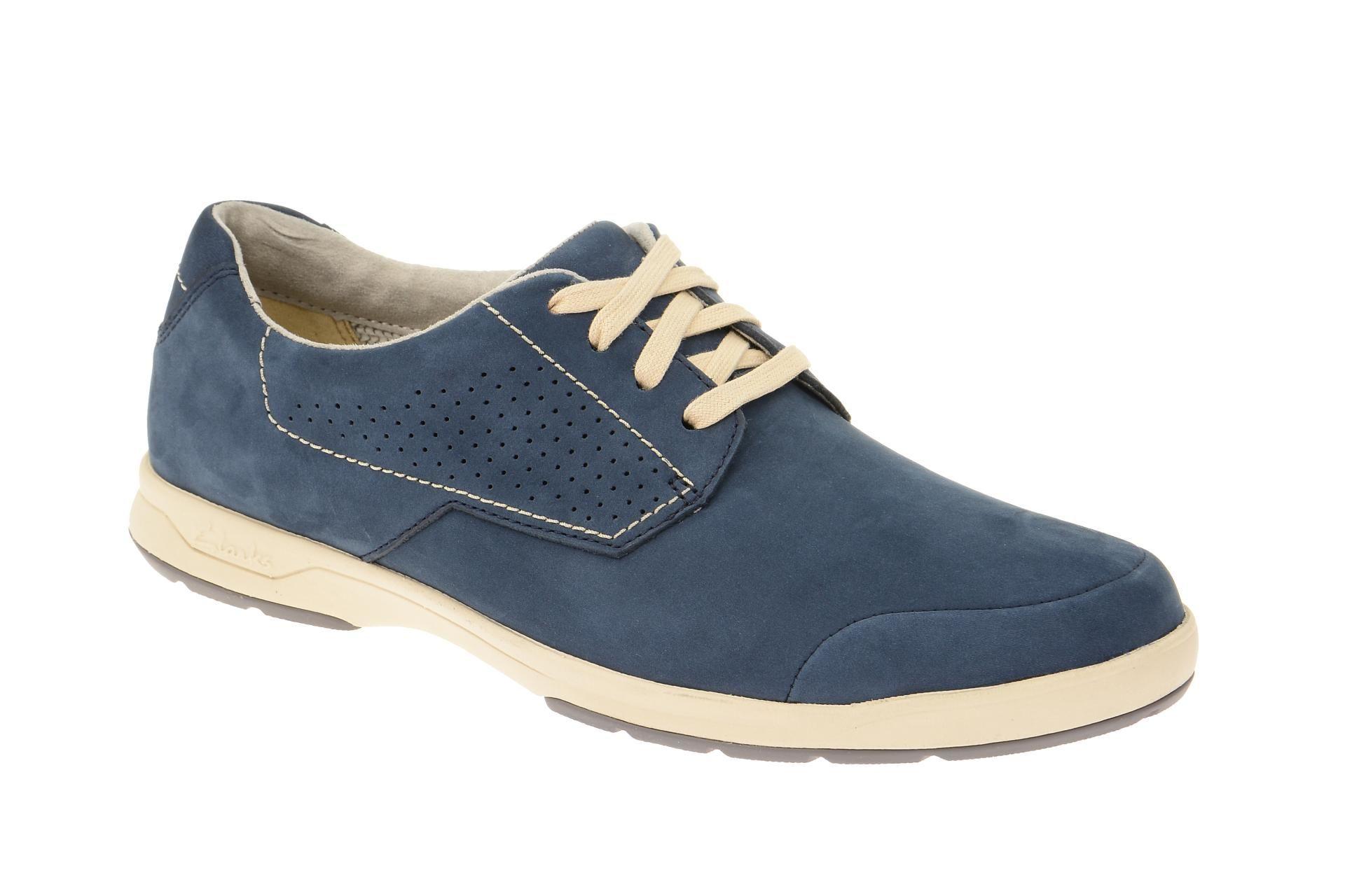 best service c560d e4235 Clarks Stafford Plan Schuhe blau Nubuck in 2019 | mode ...