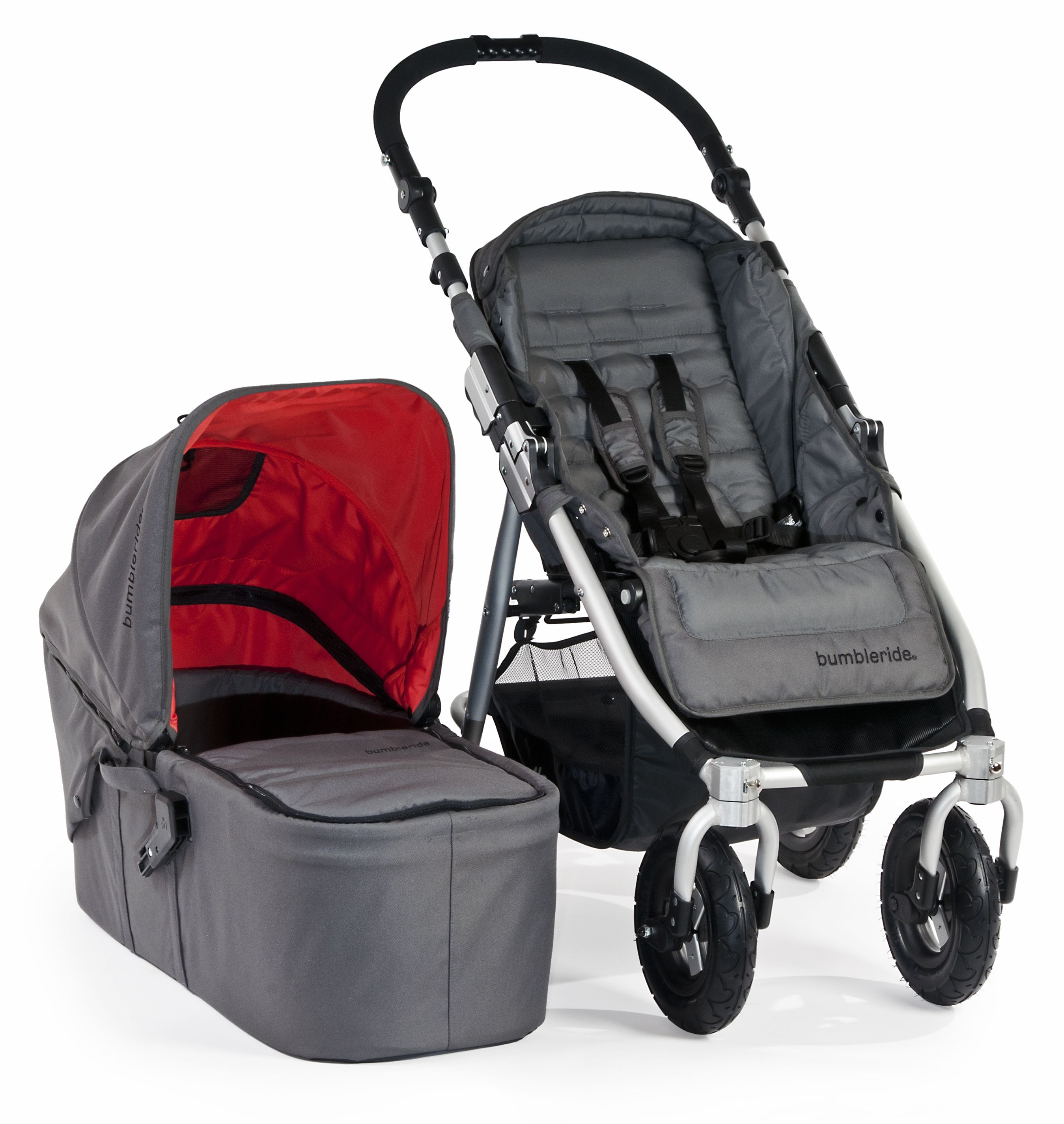 """The Bumbleride Indie 4 Urban All Terrain Stroller with"