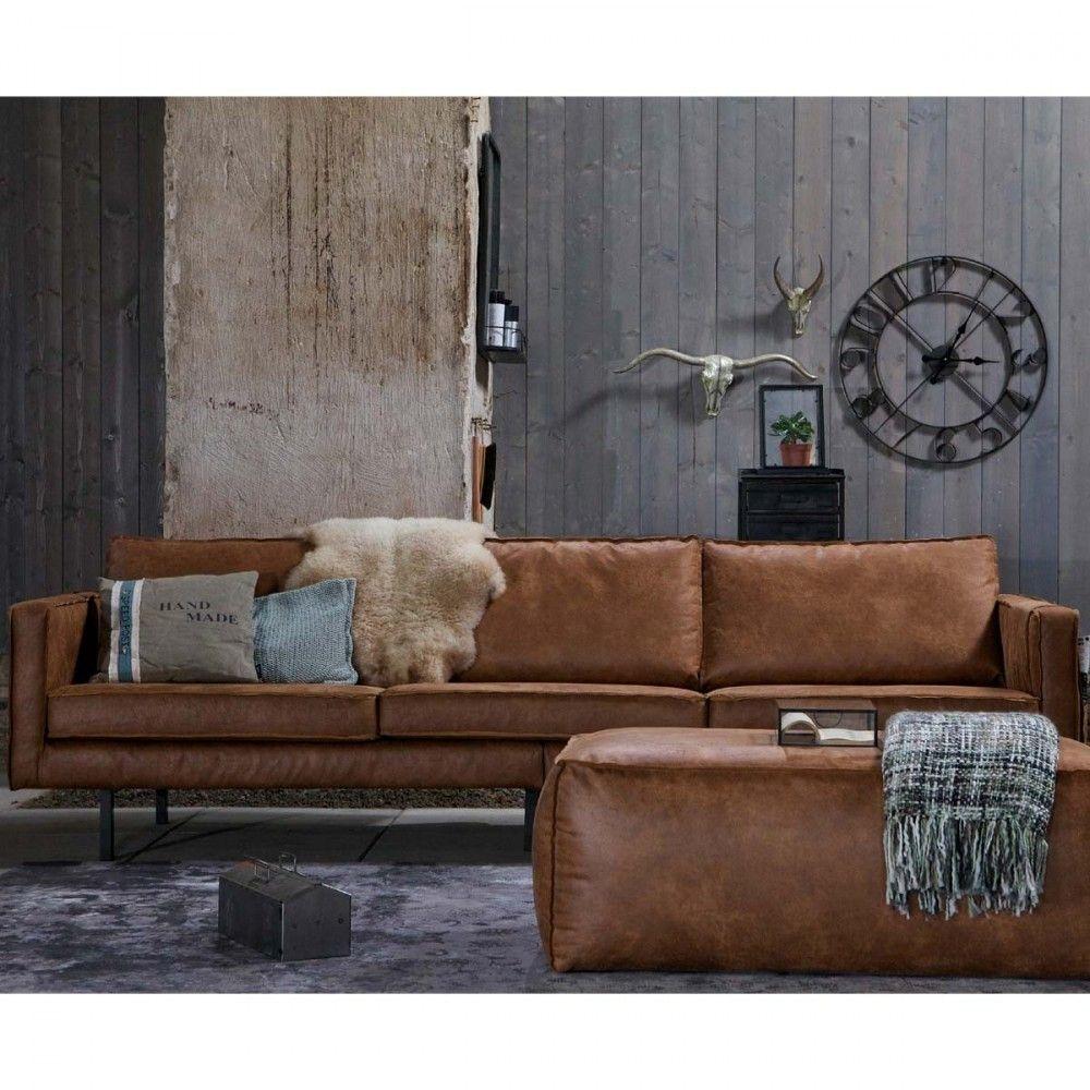 948e65b413fd3 Grand canapé 4 places vintage Woood - BRONCO