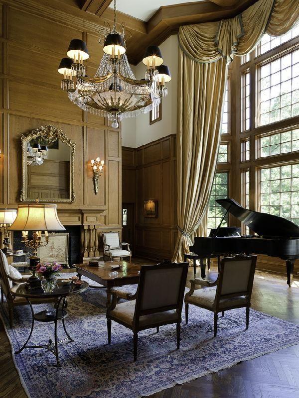Victorian Gothic Style Interior Victorian Interior Design