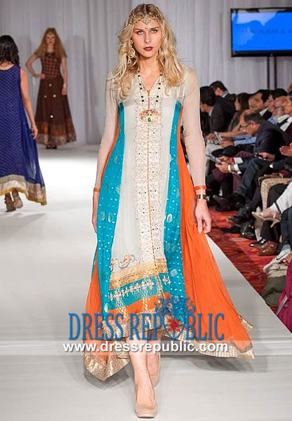 Pakistani Bridal Party Dresses at PFW5 in USA Shop Online Pakistani ...