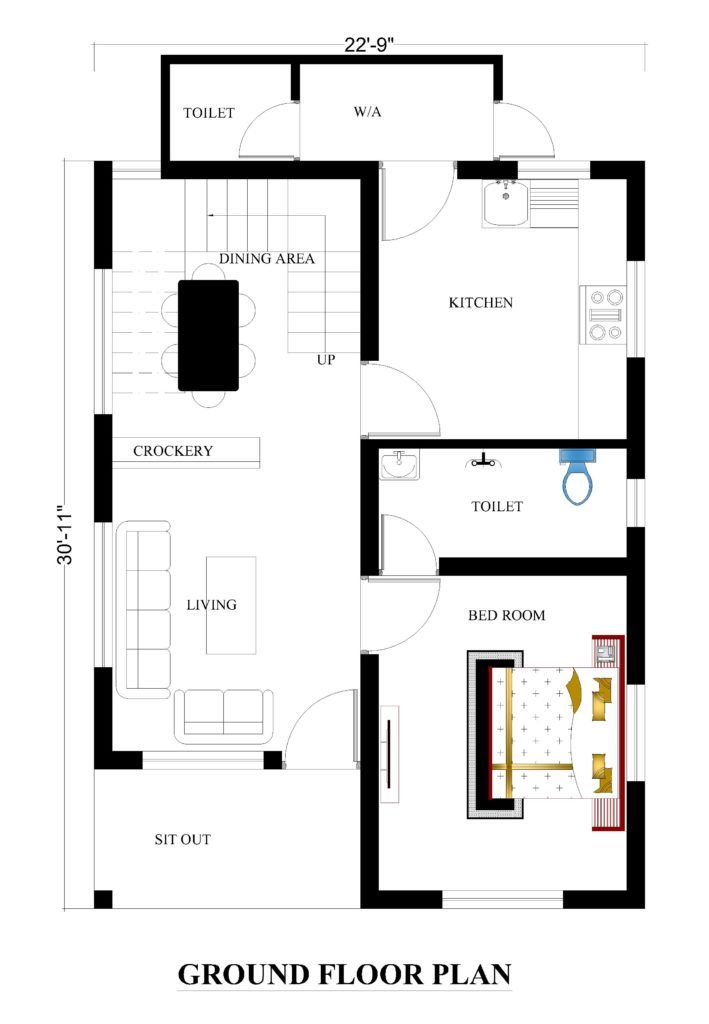 22x31 House Plans For Your Dream House House Plans Duplex House Plans Indian House Plans Affordable House Plans