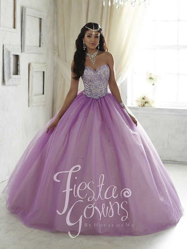 Hot Sale Purple Quinceanera Dresses 2016 Sweetheart Ball Gown Beaded ...