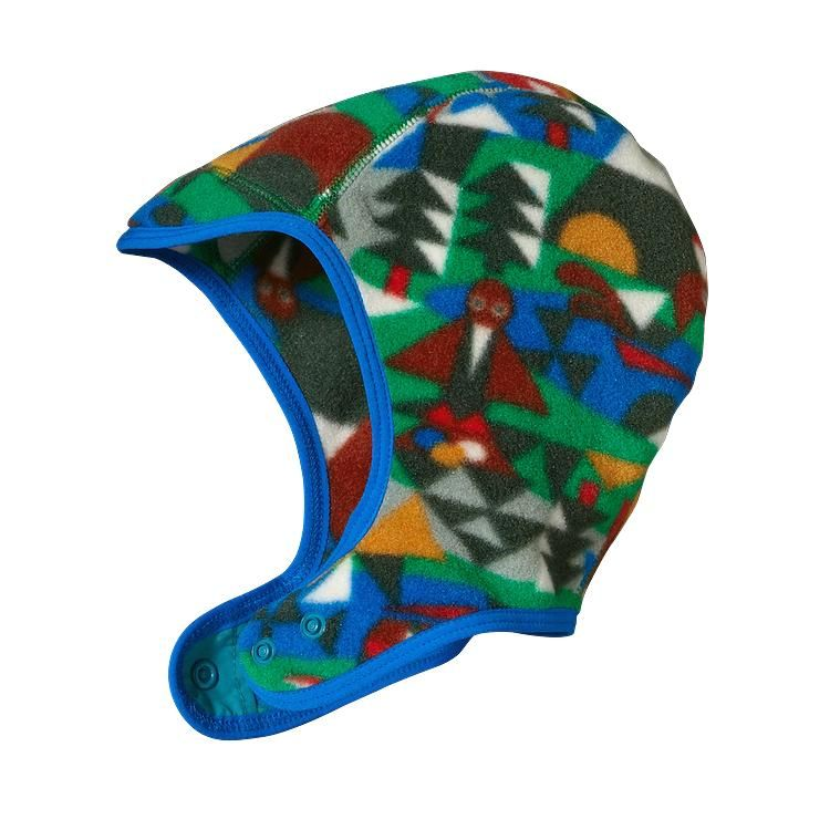 481e38aa9 Patagonia Baby Synchilla® Recycled Fleece Hat   Andes Blue   Baby ...