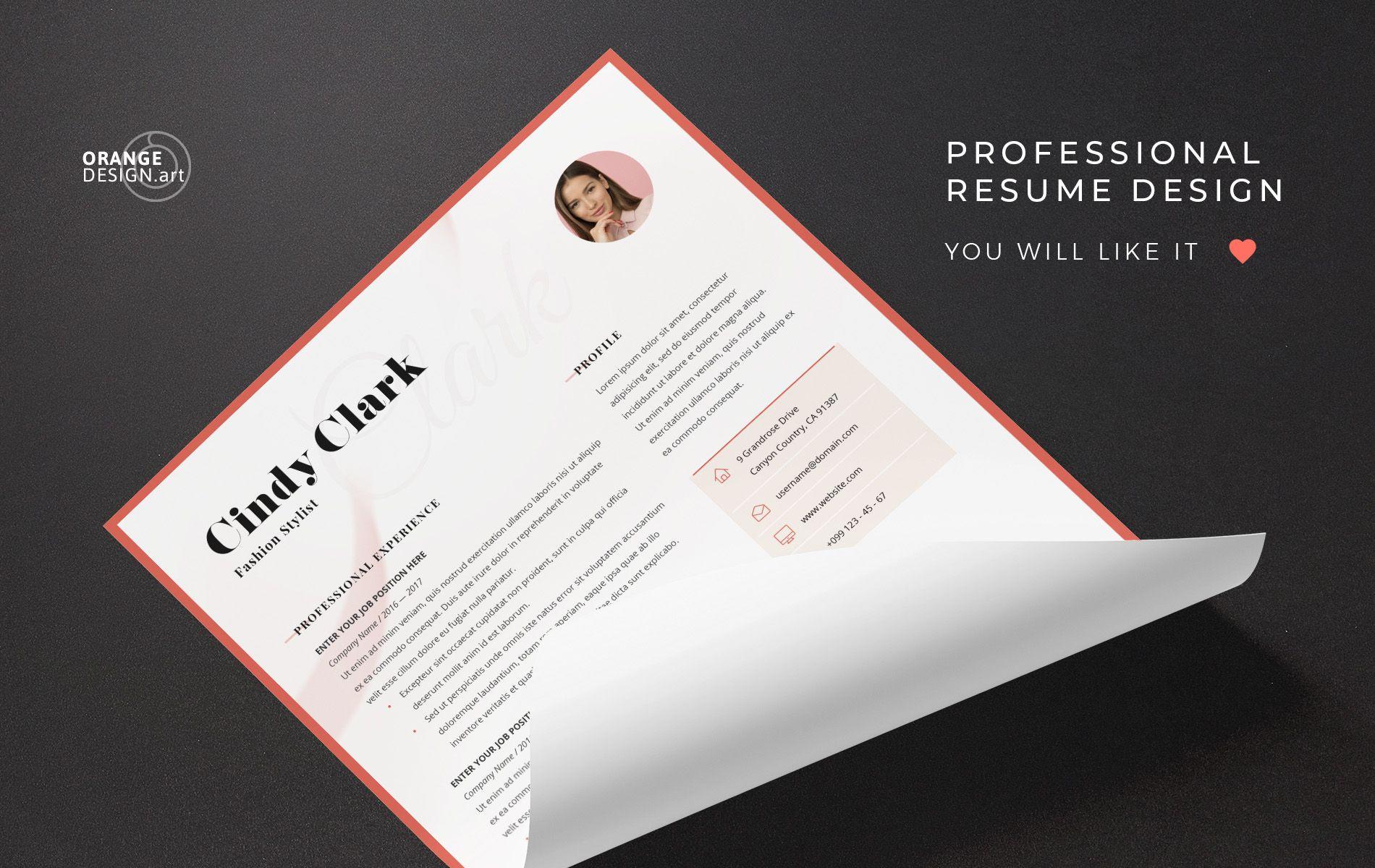 Cindy clark resume template 83188 templates resume