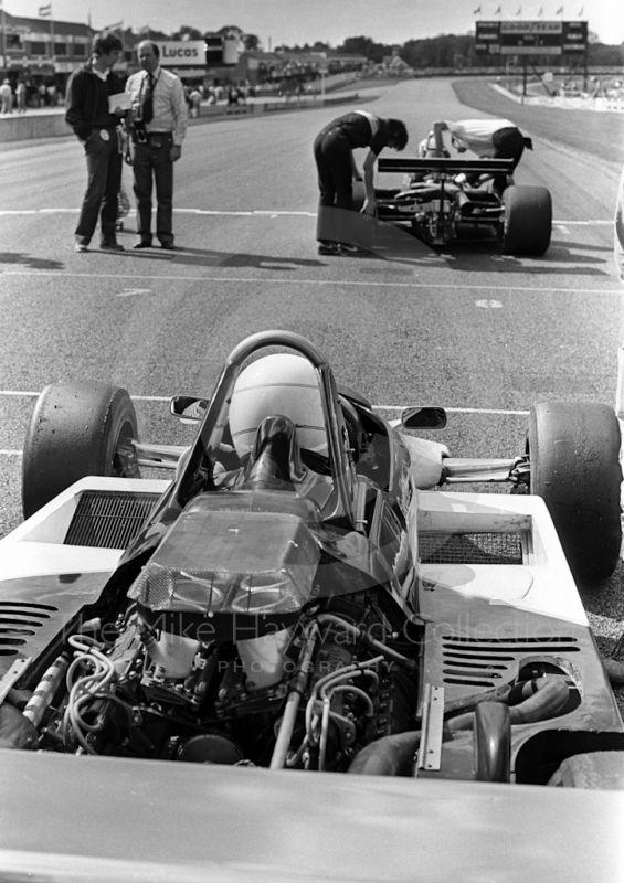 "Geoff Lees - Ralt RH6/81 Honda/Wakou - Ralt RAcing Ltd - III Donington ""50 000"" 1981 - The John Howitt Trophy Race"