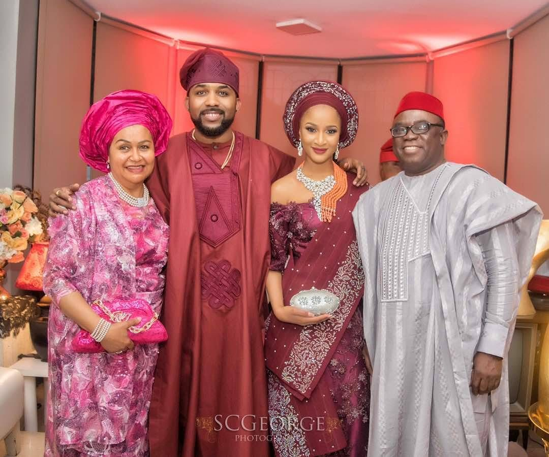 Photo From Banky W And Adesua Etomi Wedding Introduction