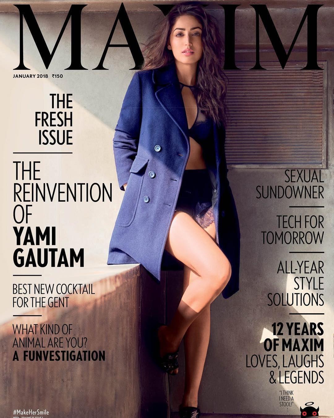 Yami Gautam Looks Scorching Hot On Maxim India Magazine Latest Issue ...