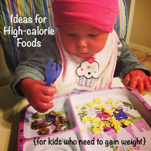 High Calorie Food Ideas For Kids Who Need To Gain Weight