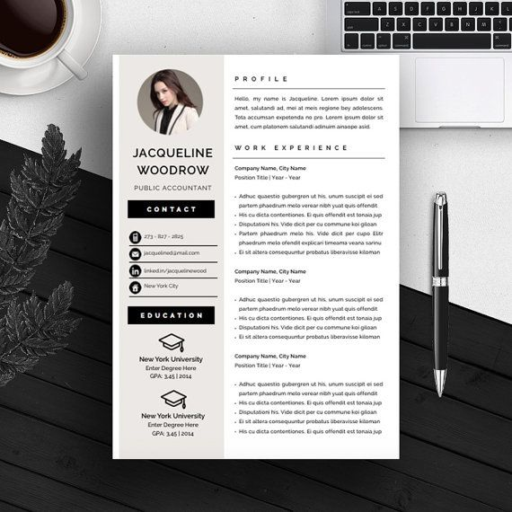 Creative Resume Template Cv Template Cover Letter For Ms Word Iwork Instan Cover Letter For Resume Cover Letter Template Free Resume Design Template
