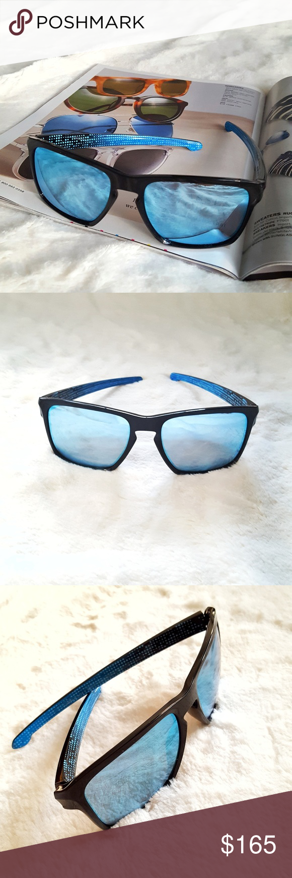 4404789822 OAKLEY SLIVER PRIZM DEEP WATER XL Comes new in a box. Sleek architecture  and sculptural
