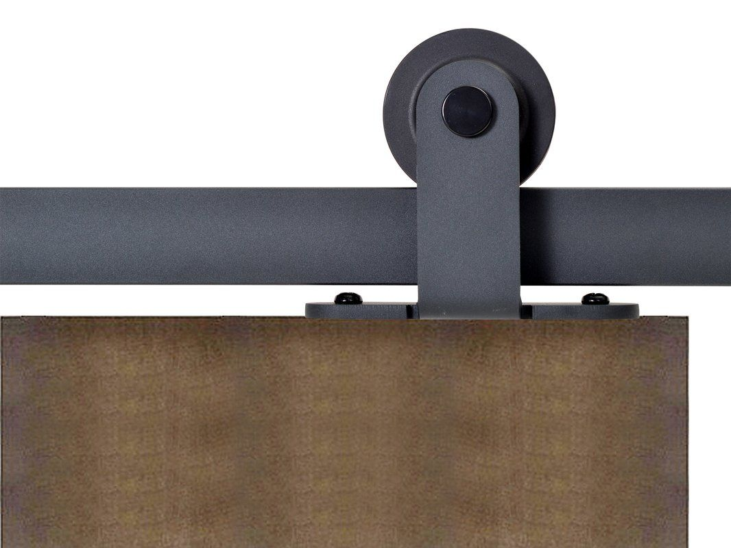 Top Mount Style Sliding Standard Single Track Barn Door Hardware Kit Barn Door Barn Door Hardware Sliding Door Track