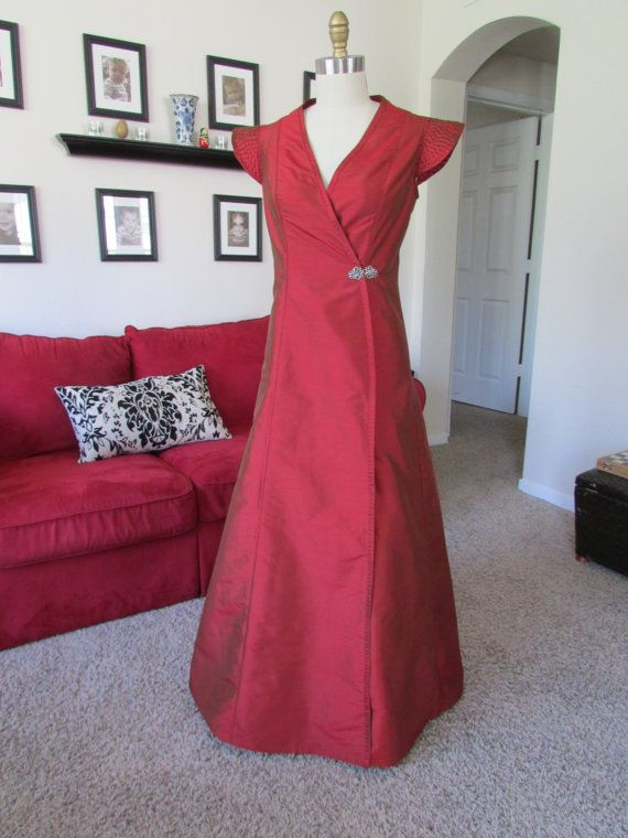 The Red Dress Game of Thrones inspired gown by fadendesignstudios ...