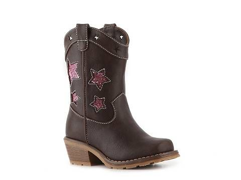 Dynasty Annie Girls' Infant & Toddler Western Boot Girls' Infant (0-2 years)…