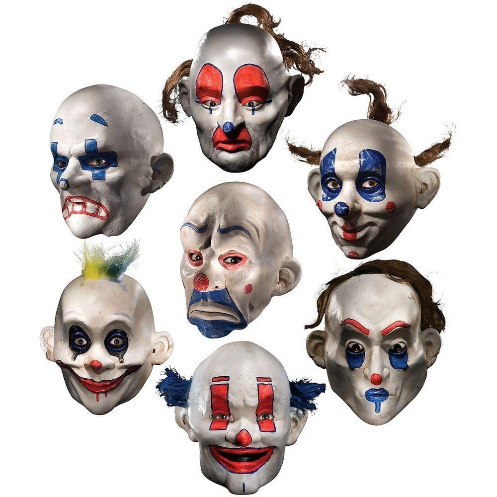 Details about Joker Clown Mask Adult Mens The Dark Knight ...