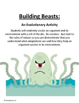Adaptations of Animals Project for Evolution | Middle School Science