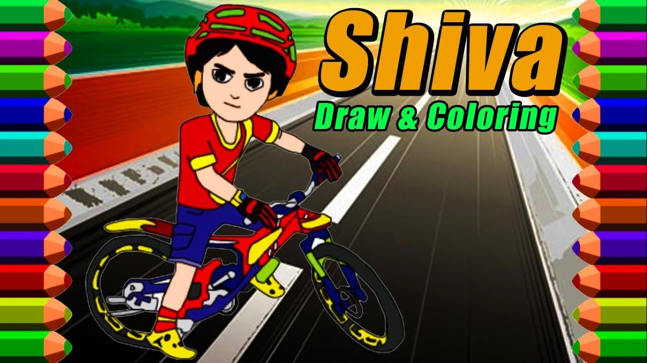 Shiva The Rescue Cartoon Drawing Anak Teman Lucu