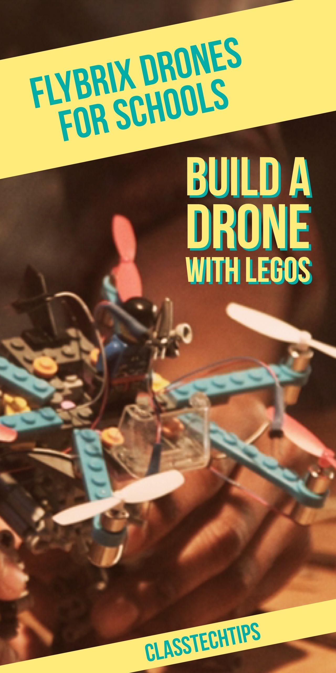 Flybrix drones for schools build a drone with legos