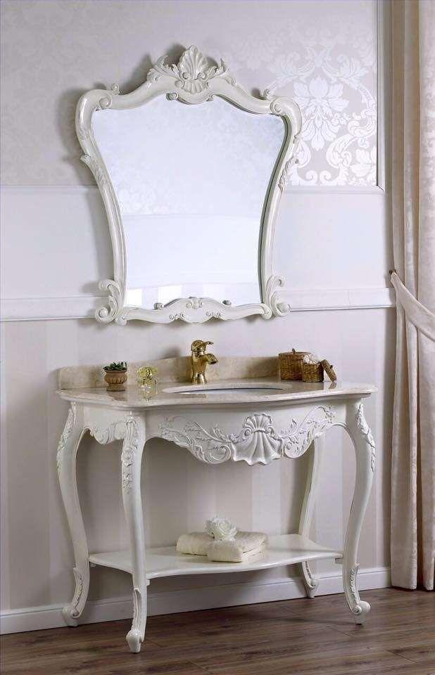 Bagno in stile liberty - Mobili bagno eleganti | Bagni - Bathrooms ...