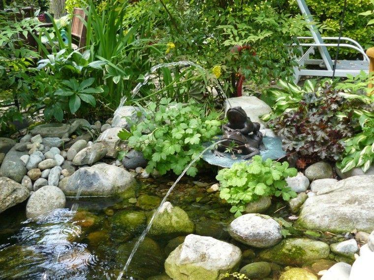 Fuentes de jardín - 100 modelos de espectáculos acuáticos ...
