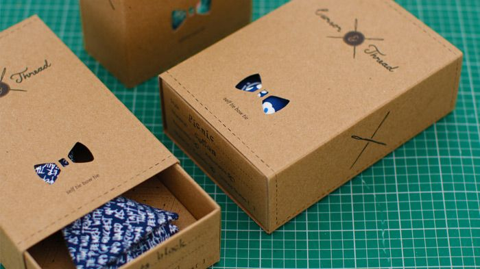 Fashion Packaging Neckties Papillon