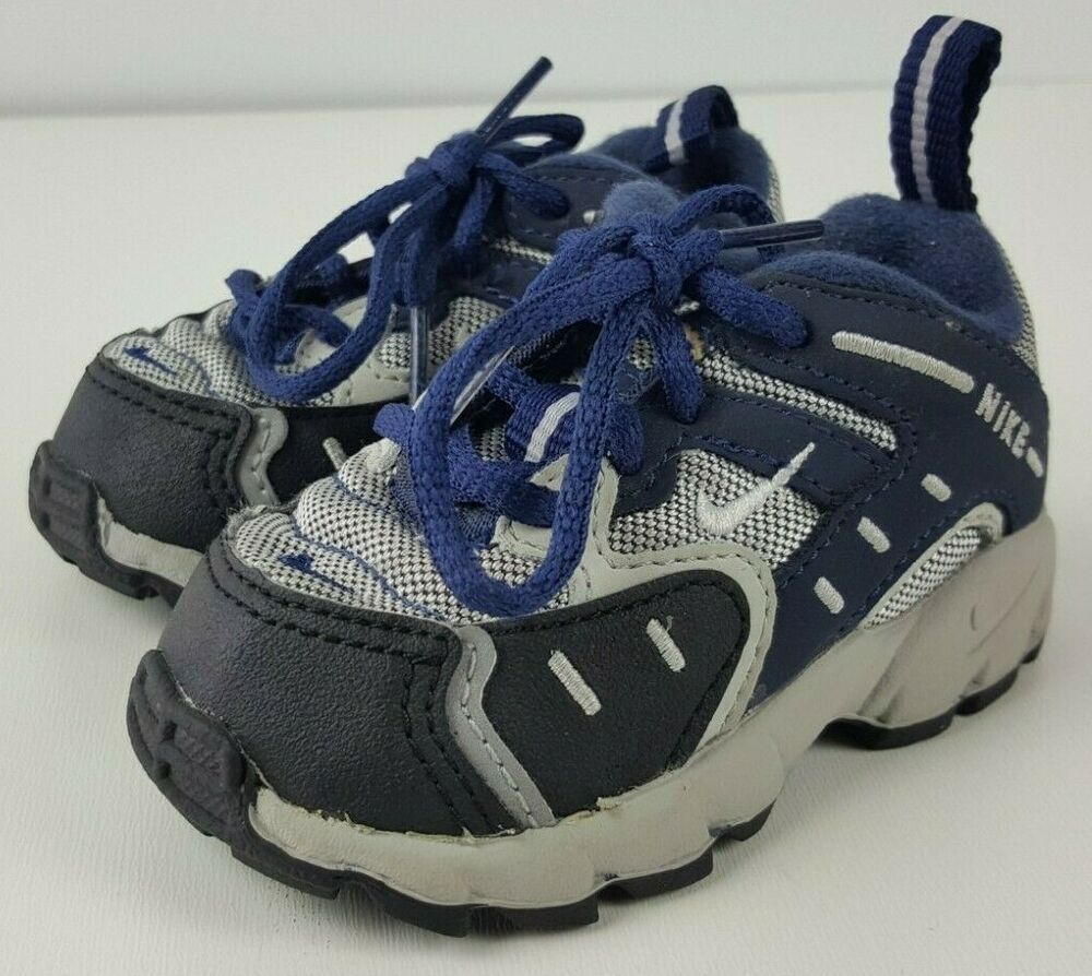 Nike ACG All Conditions Gear Baby Sz 3C Toddler Shoes Hiking 2002 Lace up Blue,  #ACG #baby #Blue #Conditions #Gear #Hiking #LACE #NIKE #pinktennisshoeoutfitwinter #shoes #toddler