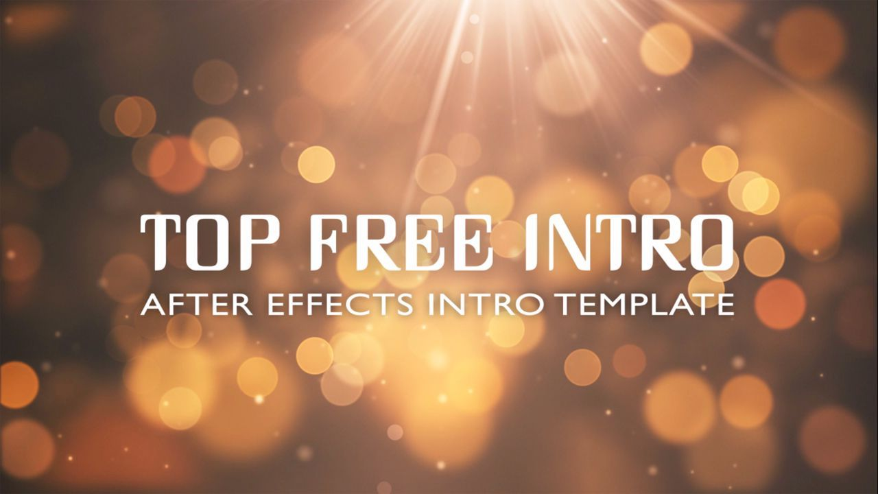 Free After Effects Intro Template Hi Everybody Here You Can Free - After effects templates free download cs6
