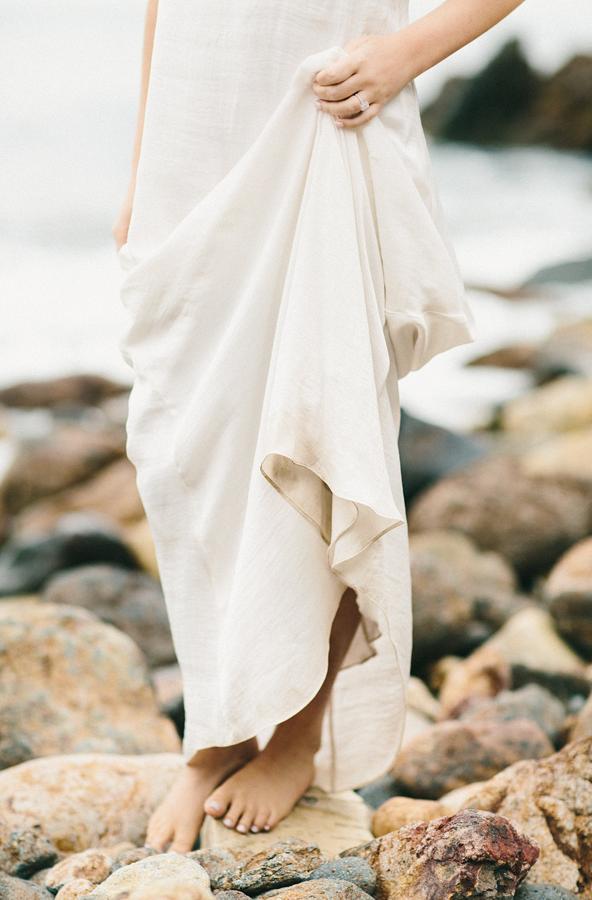 Elegant Beach Engagement Session - Once Wed | Wedding