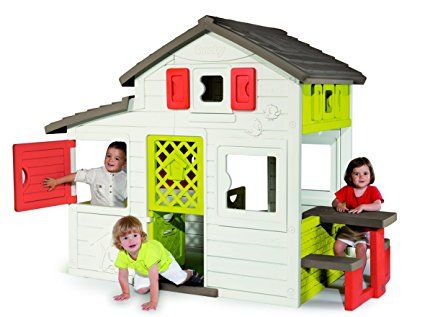 Smoby 310209 Friends Haus Amazon De Spielzeug Outdoor Toys For Kids Play Houses Outdoor Toys