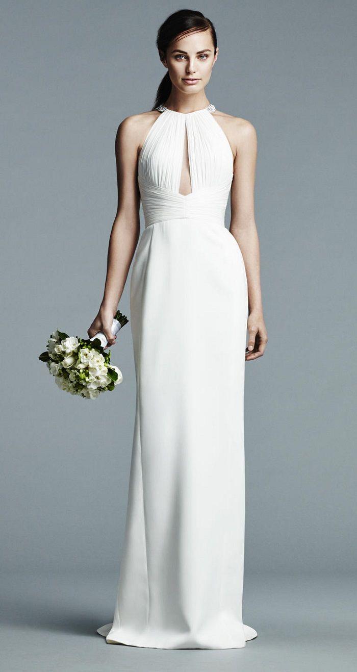 J Mendel Bridal Spring 2017 Wedding Dress | High neck wedding dress | itakeyou.co.uk #weddingdress #weddingdresses #wedding #highneck #weddingdresses2017 #bridalgown #weddinggown