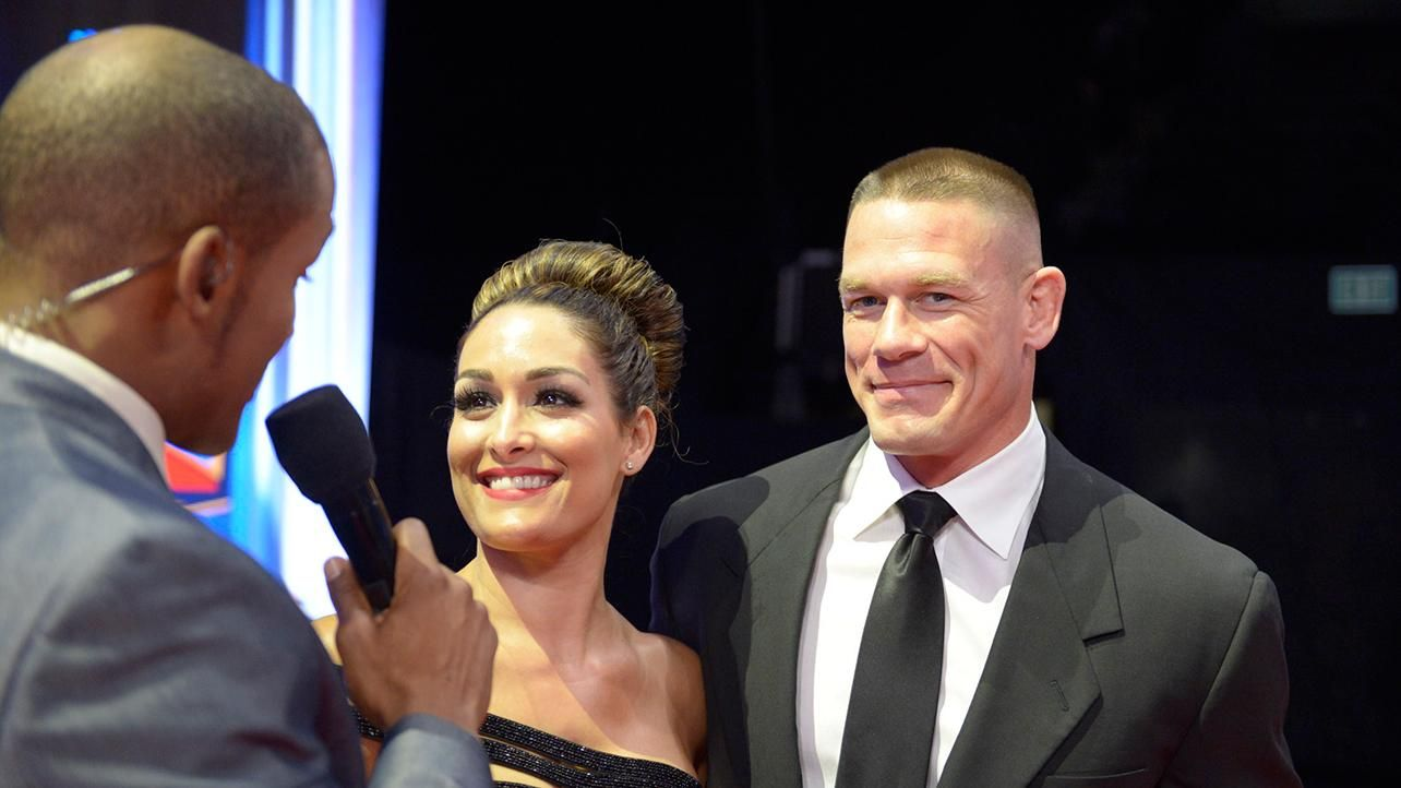 2015 WWE Hall of Fame red carpet: photos