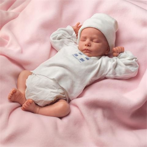 Ashley Breathing Lifelike Collectible So Truly Real Baby