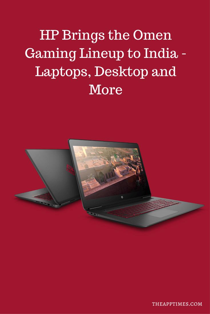 HP Brings the Omen Gaming Lineup to India – Laptops, Desktop