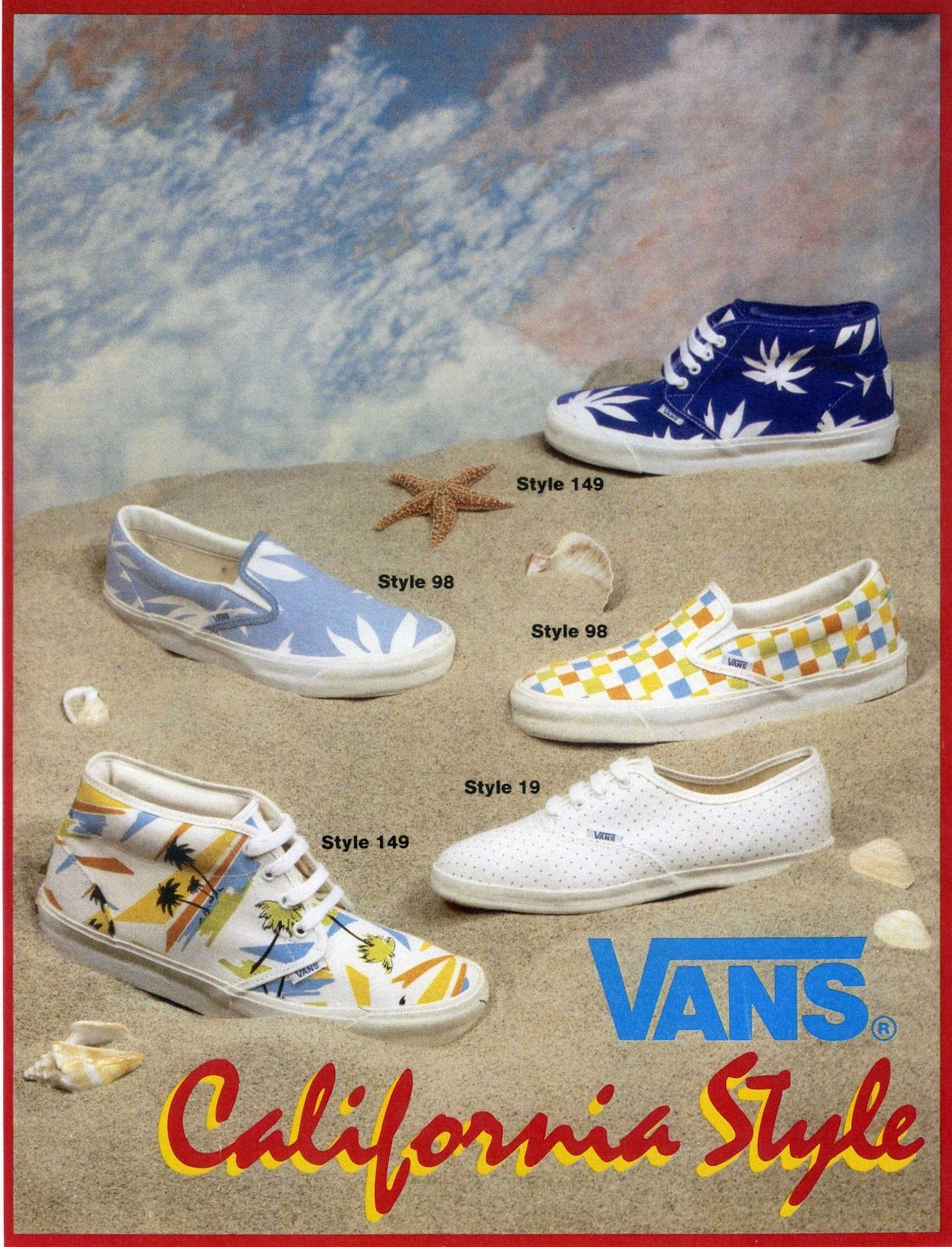 9c812f6787 Vans Vintage Ad Bmx Shoes