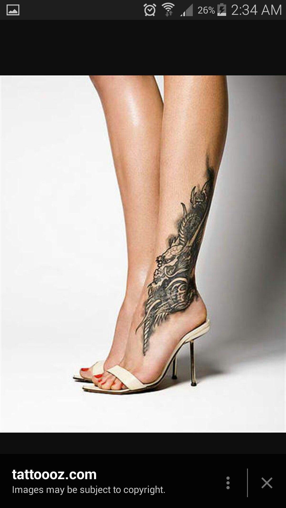 Placement Ankle tattoos for women, Calf tattoos for
