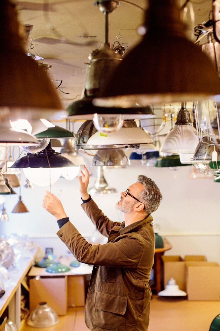 Sunday with…Frank, Antiquing Our men's designer takes us along to some of his favorite antiquing spots and shares his vintage-shopping viewpoint. Read more here.