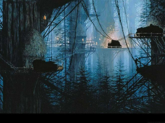 This Is How Star Wars Filmmakers Created Elaborate Scenes Before - Scenes original star wars created cgi