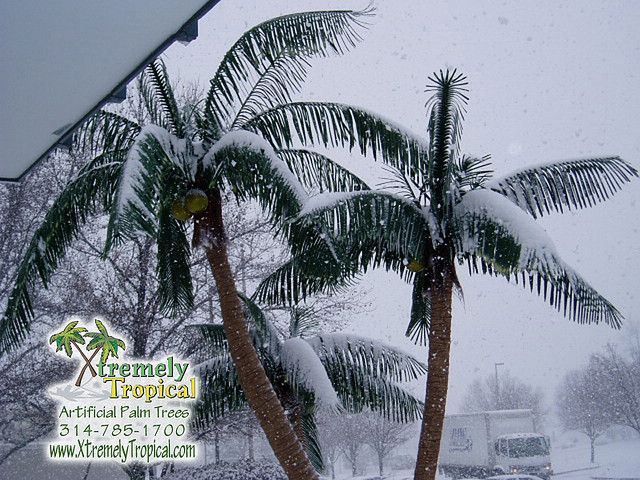 Artificial Palm Tree Outdoor Winter Palm Tree Palm Trees Artificial Plants And Flowers Artificial Trees